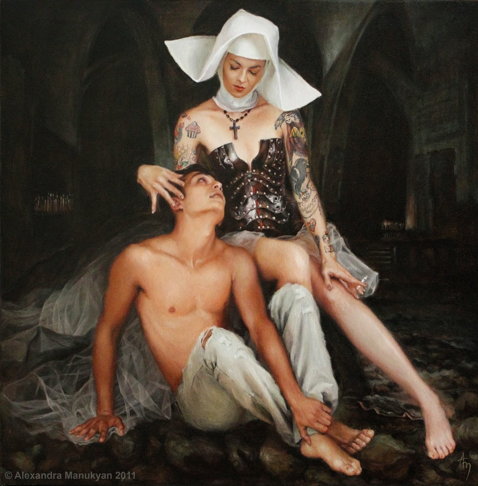 Alexandra Manukyan - Secrets and confession, 2011