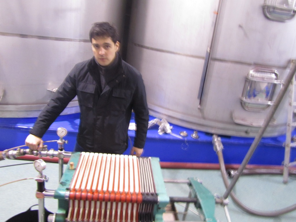 Urbina Vinos Blog: Filtración del Vino