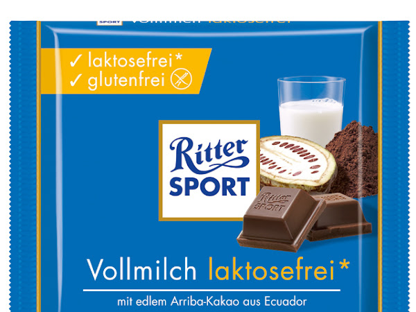 Ritter Sport: gluten- & laktosefreie Schokolade!