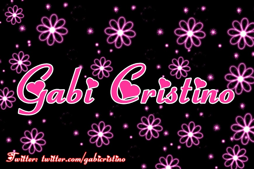 .¸¸.*★ Gabi Cristino ★*.¸¸.