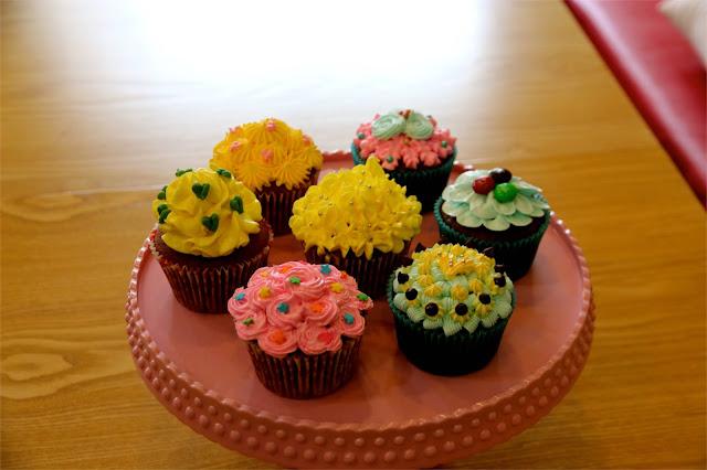 cupcake décoration techniques