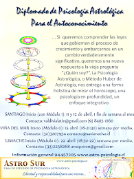 Formación Psicología Astrológica 2015: Santiago, Viña del Mar y Limache