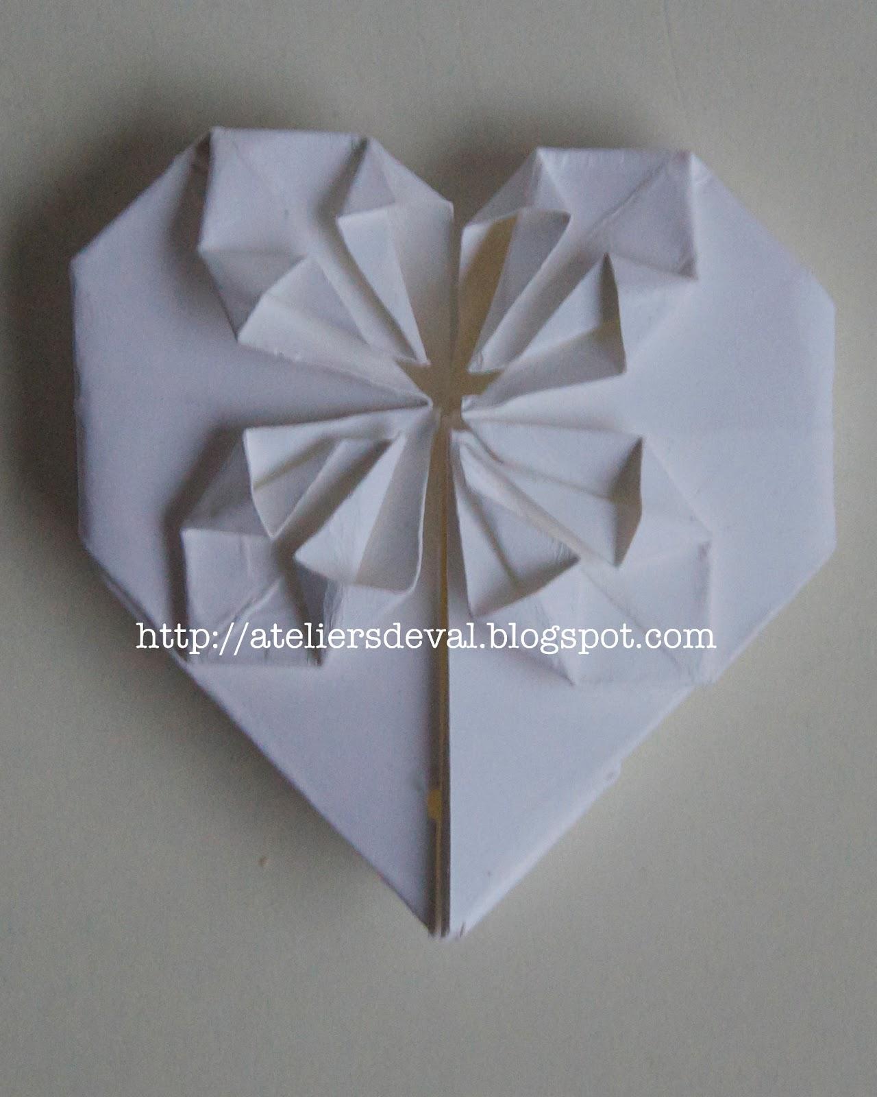 les ateliers de val faire part mariage origami. Black Bedroom Furniture Sets. Home Design Ideas