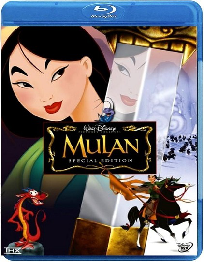 Mulan 1998 Hindi Dubbed Dual BRRip 480p 250MB