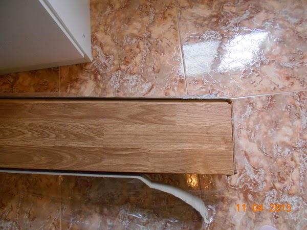 Como colocar piso laminado na parede diy decora o e - Sacar escuadra para colocar piso ...