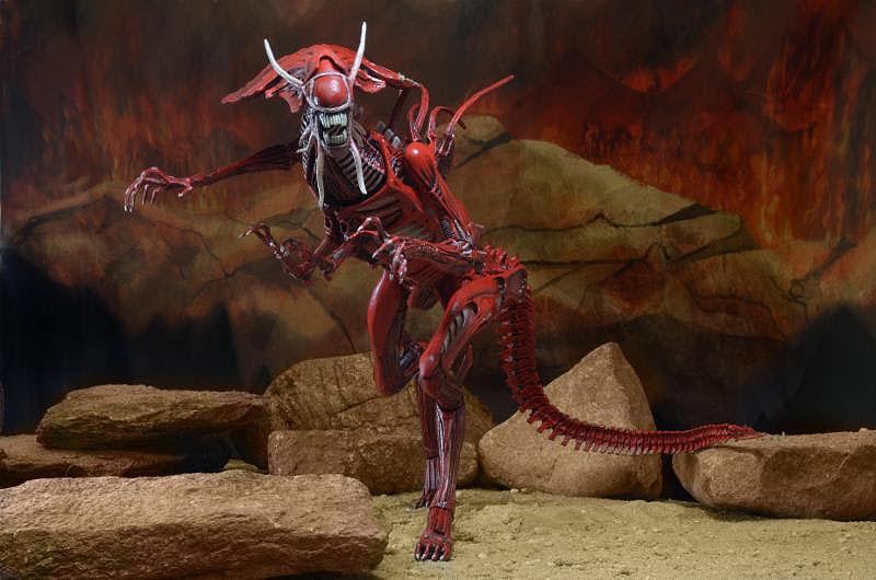 New Neca Alien Figures Red Alien Queen And Isolation