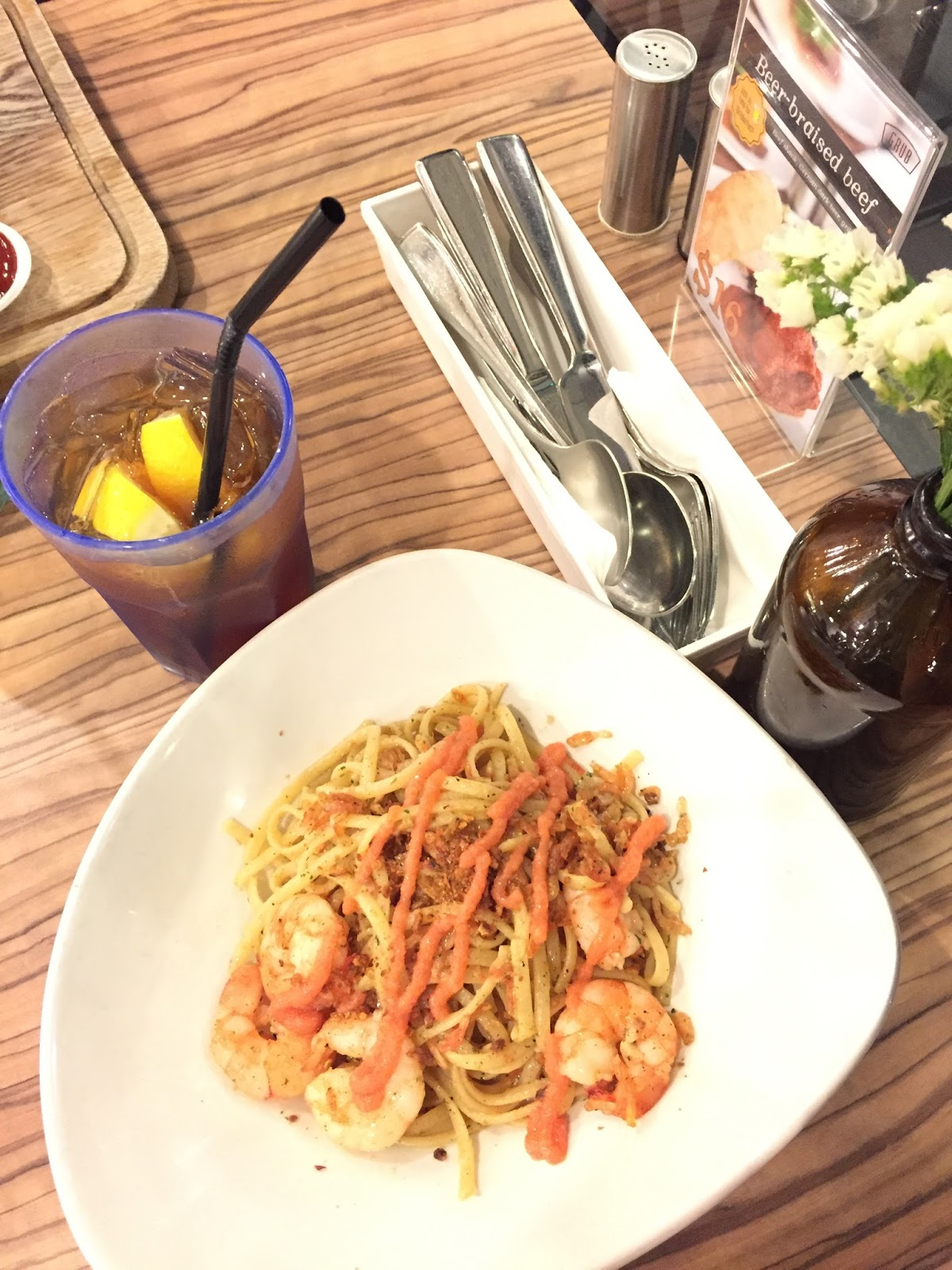 REVIEW GRUB Cafe At Bishan Park