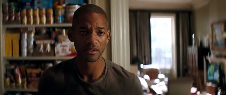 Screen Shot Of I Am Legend (2007) Dual Audio Movie 300MB small Size PC Movie