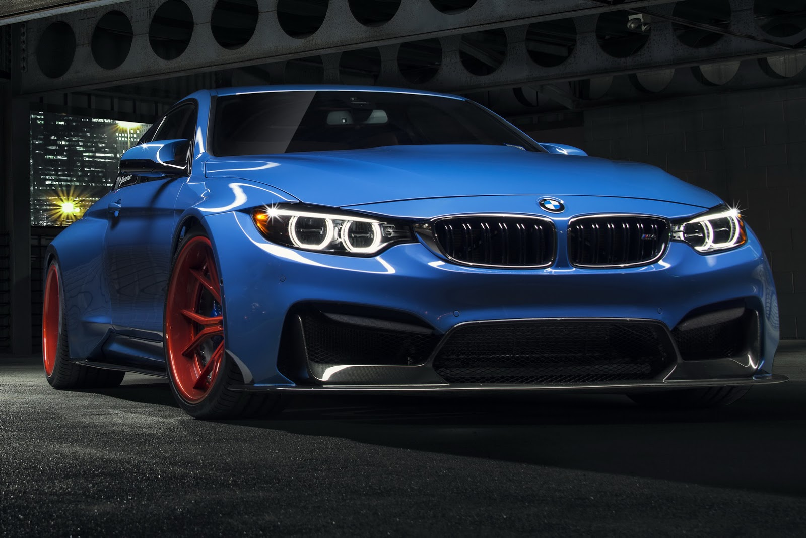 Too Much Vorsteiner S Bmw M4 Gtrs4 Tries On Superman Suit