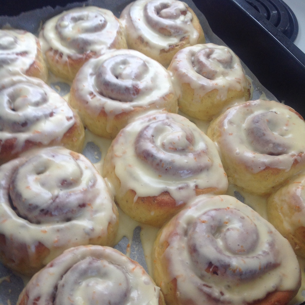 Maryam's sunshine cinnamon rolls recipe