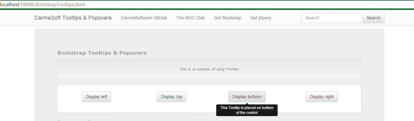 The Asp Mvc Club Bootstrap Tutorial Lesson 10 Tooltips And