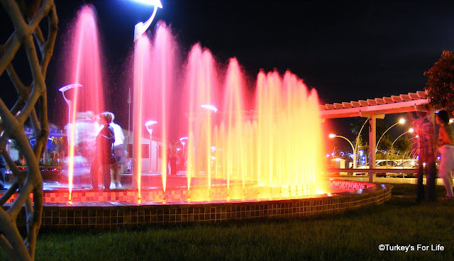 Fountain Light Show, Fethiye