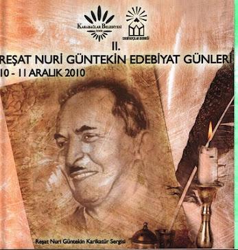 Reşat Nuri Güntekin sergi albümü