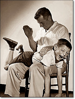 Spanking is as old as our forefathers