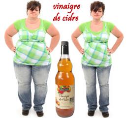 Vinaigre de cidre pour maigrir