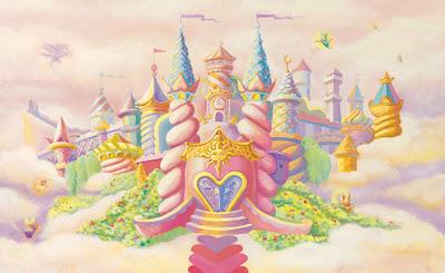 wall mural - creative kid mural - mural castle - custom mural printing