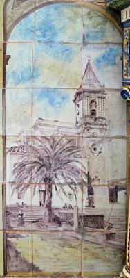 Plaza de España - Sevilla - Azulejo de Huelva - Iglesia de Palos de la Frontera