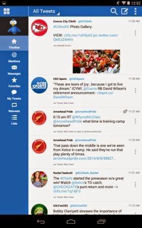 TweetCaster Pro Apk