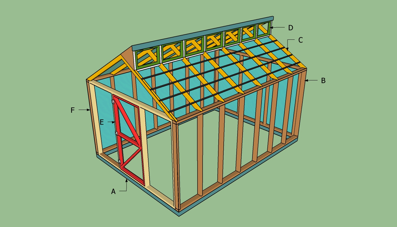 Howtospecialist pizza oven plans gazebo plans simple for Greenhouse design plans