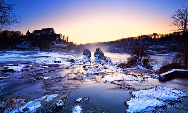 瑞士萊茵瀑布