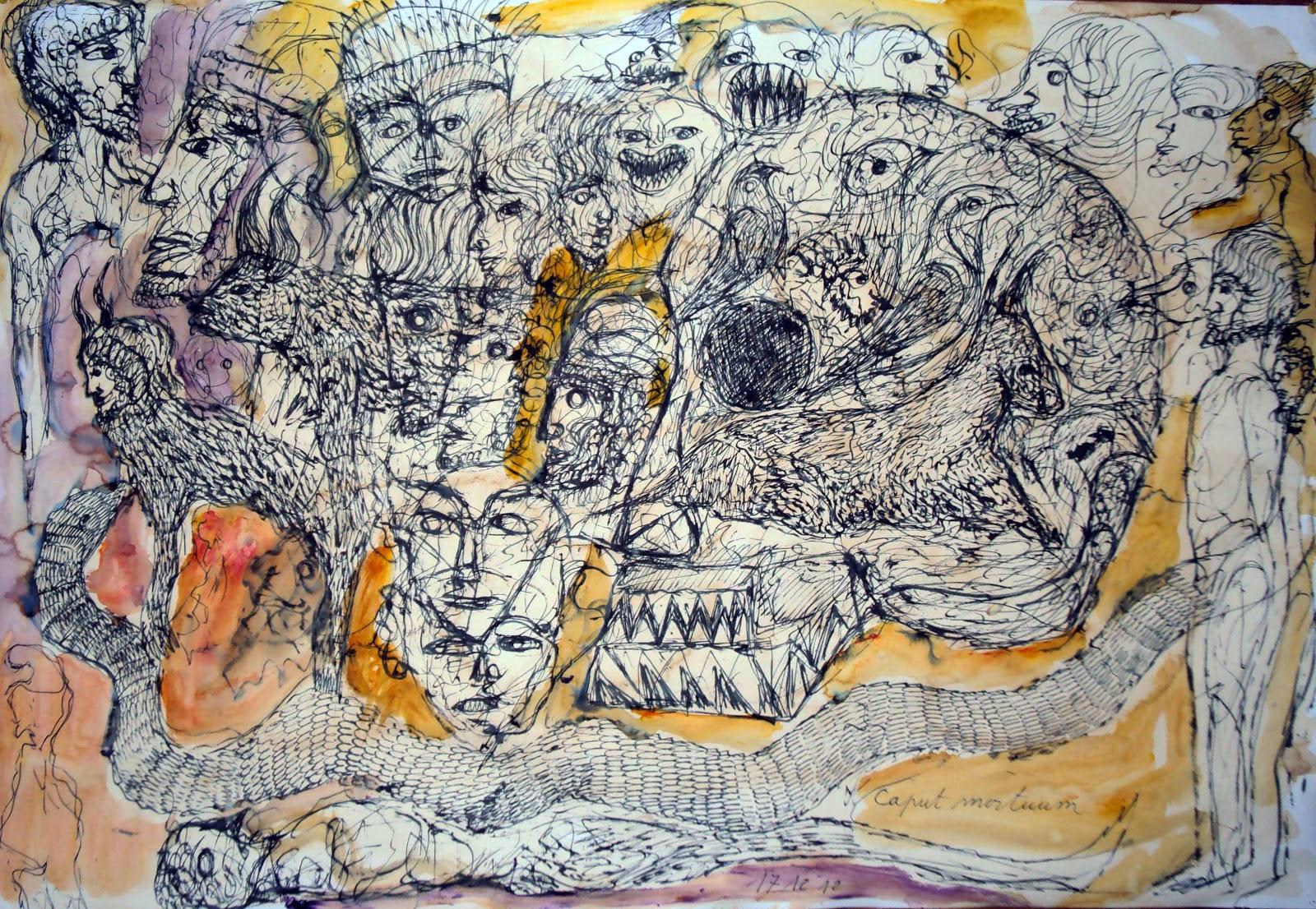 Jean christophe philippi journal de peinture d cembre 2012 - Bricolage en papier journal ...