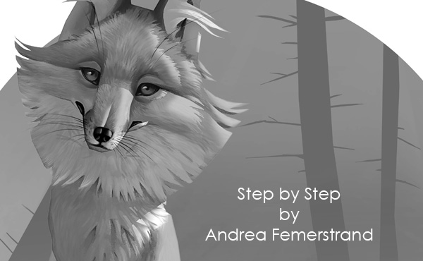 fox painting tutorial photoshop