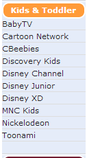 Daftar channel paket berlangganan indovision VENUS