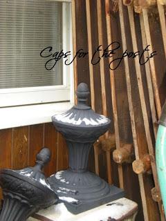 wrought iron post caps garden gates