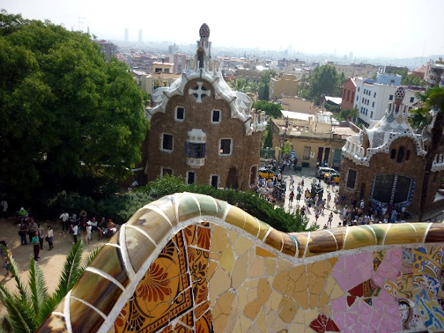 cosa vedere a barcellona, parco guell