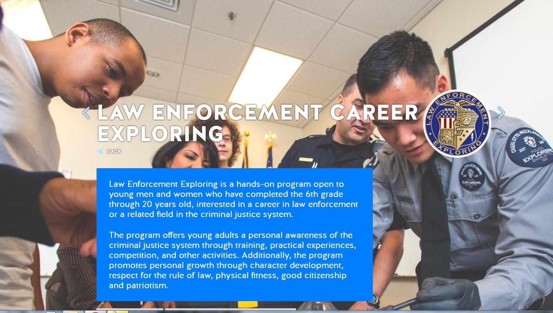What is Law Enforcement Exploring