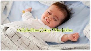 kebaikkan tidur