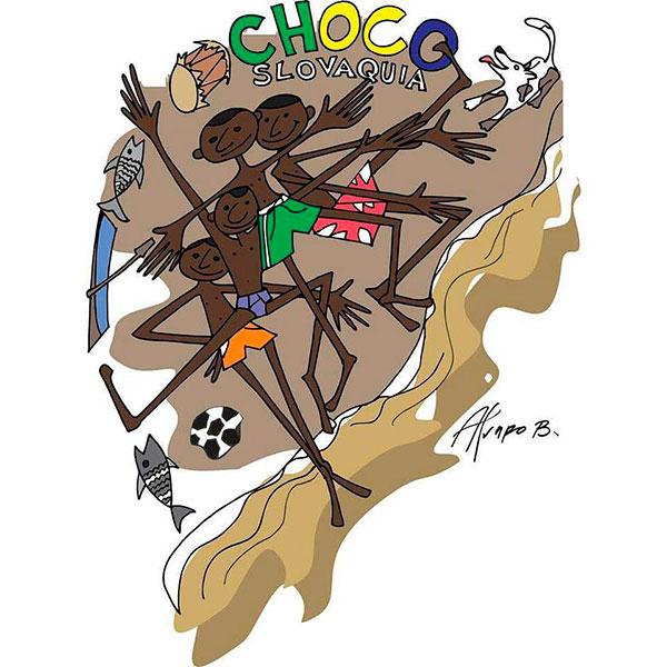 Ilustración, Choco Slovaquia de Álvaro José Bonilla Sánchez