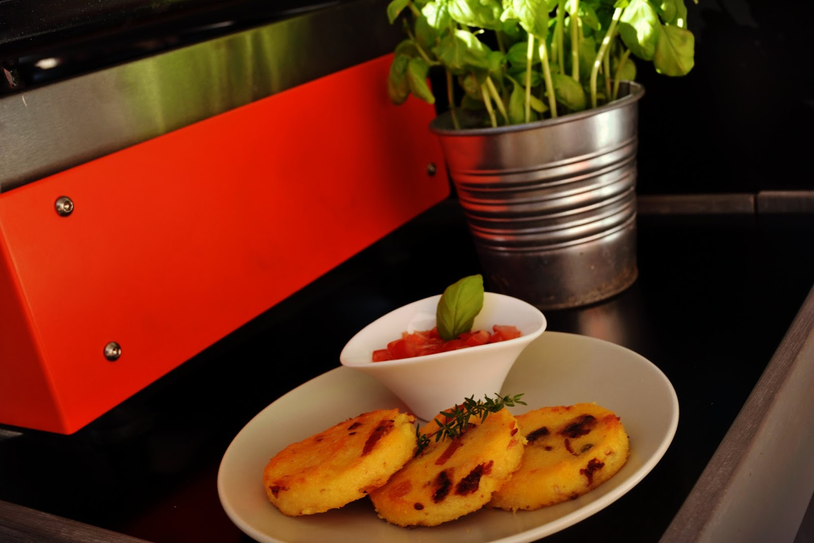 Galette de polenta italienne blogs de cuisine - Blog de cuisine italienne ...