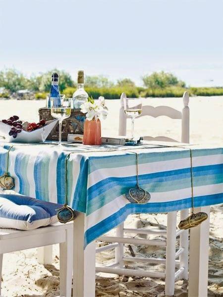 Coastal Tabletop Crafts