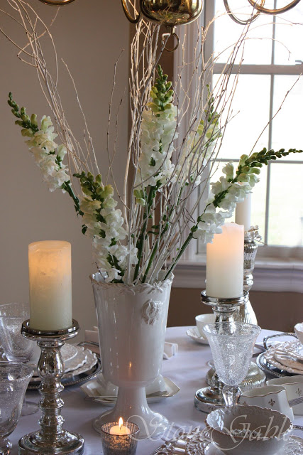 Pinklet And C Winter Tablescapes