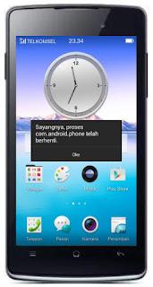 Mengatasi Sayangnya Aplikasi Telah terhenti Oppo Smartphone