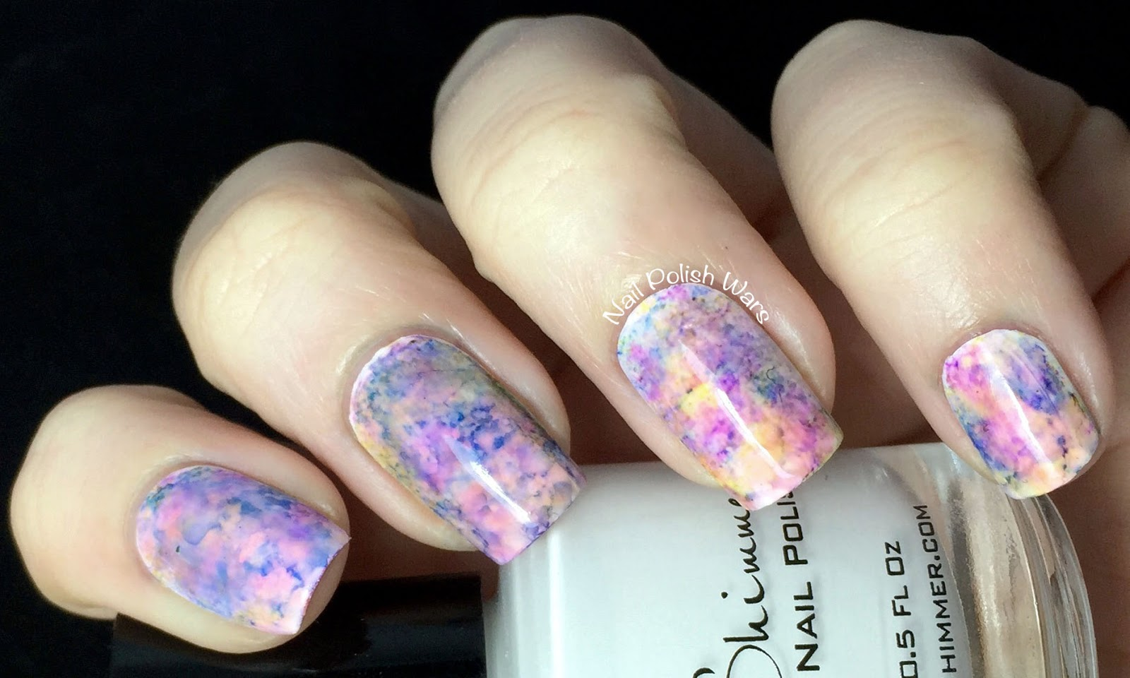Alcohol Ink Nails