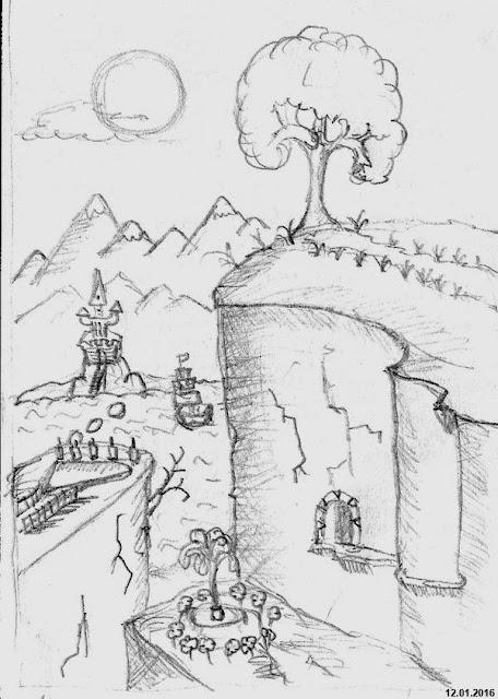 A remote castle