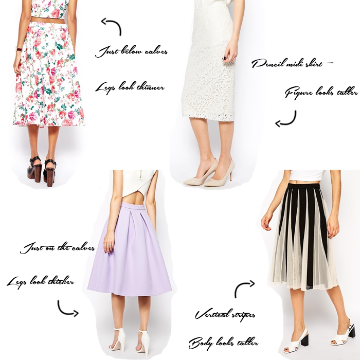 how to choose a skirt for your body type
