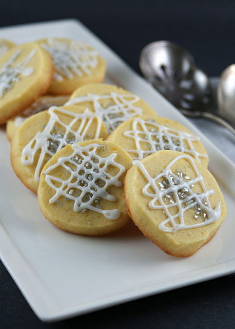 Authentic Suburban Gourmet: Lemony Slice and Bake Cookies