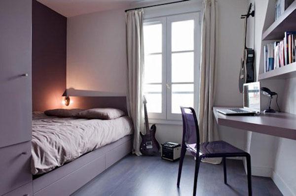 Minimalist Bedrooms Design For Narrow Spaces