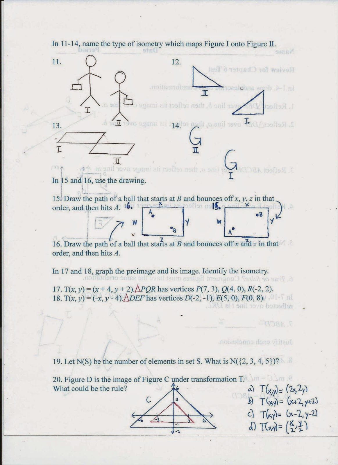 Geometry Common Core Style November 2014 – Glencoe Geometry Worksheet Answers