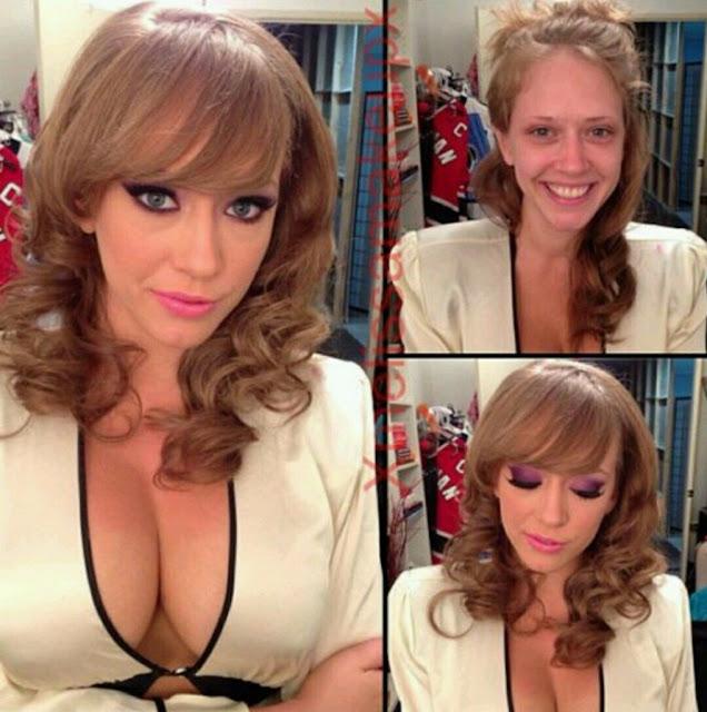 artis film porno sebelum dan sesudah make up