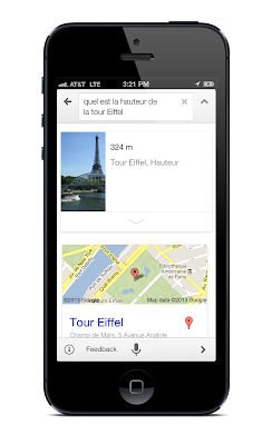 Google updates Search iOS app with support for French German and Japanese
