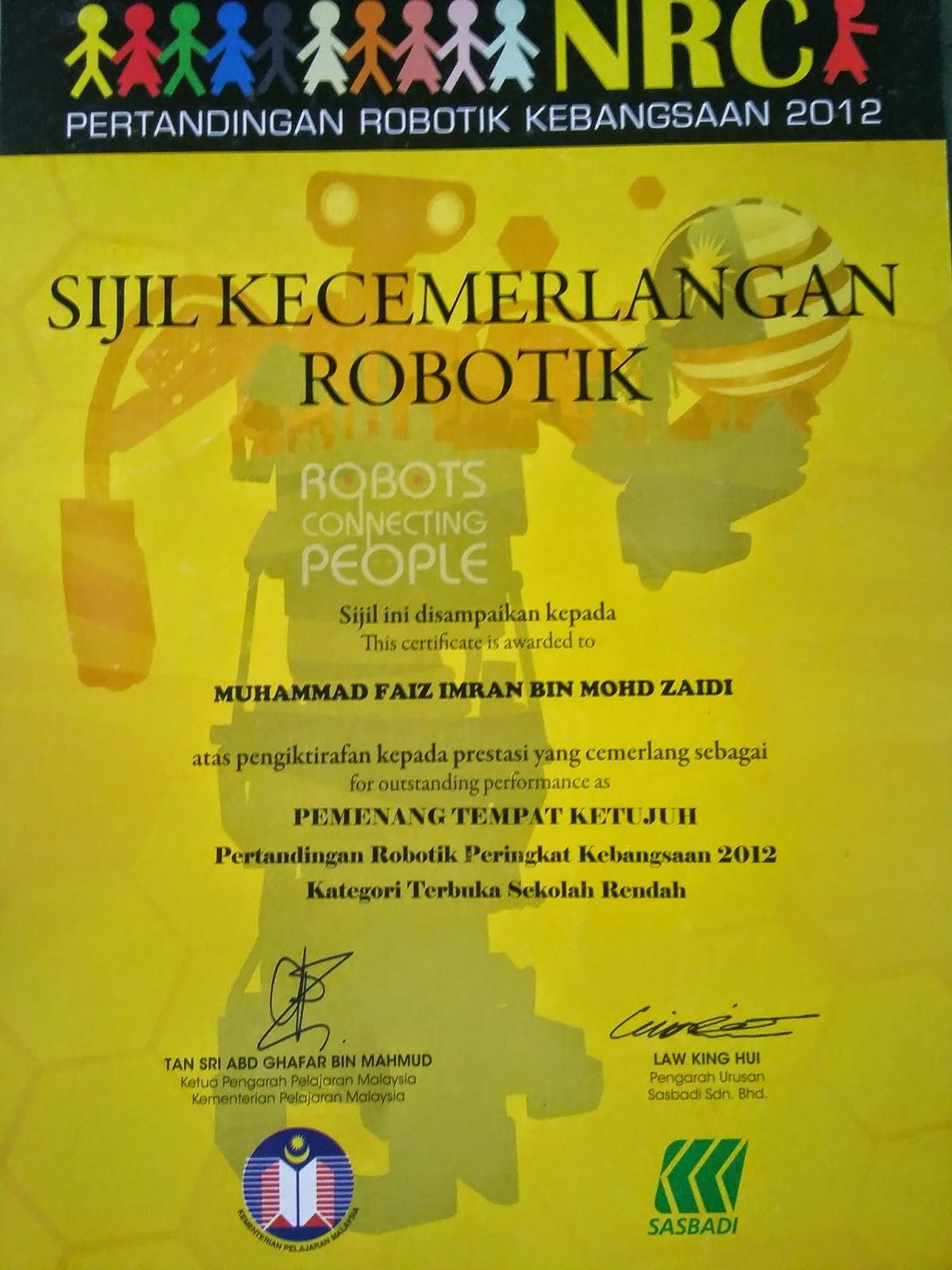 Rekaan Robotik peringkat negeri kedah, adkddayah, sk bakar arang, robot, new robot, faiz imran