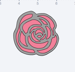 Bits and Pieces rose