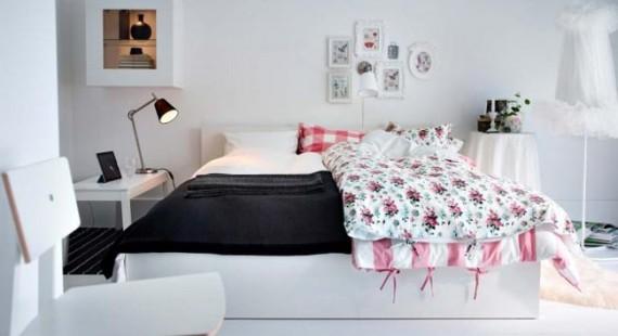 Dormitorio Rosa Ikea: Dormitorio atractivo para una niña de dos ...