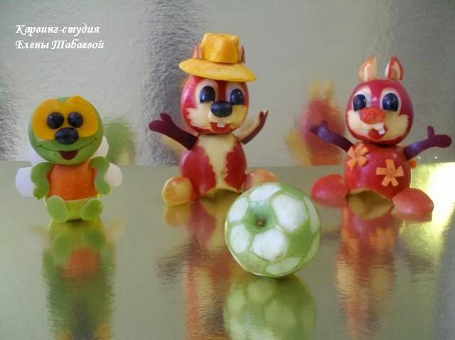 фруктовые фигурки для детей южно-сахалинск