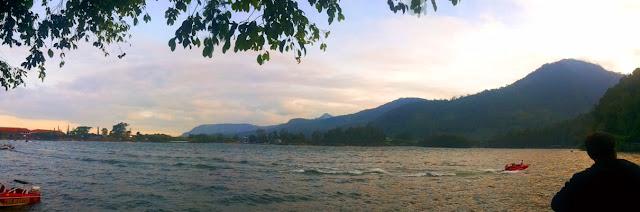 Telaga Sarangan. Telaga Pasir. Wisata Jawa Timur.