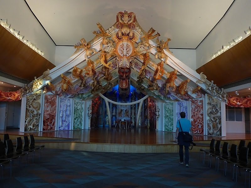 Wellington - Te Papa museum